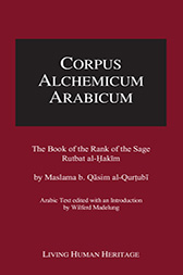 CALA IV: The Book of the Rank of the Sage, Rutbat al-Hakim by Maslama b. Qasim al-Qurtubi